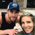 Chris Hemsworth et Elsa Pataky. Novembre 2017.