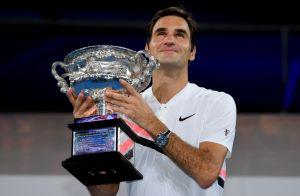 Roger Federer en larmes à l'Open d'Australie devant sa femme et Marion Bartoli