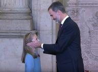 Felipe d'Espagne a 50 ans : Grande émotion avec Leonor, son héritière de 12 ans