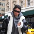 Kendall Jenner et H. Baldwin se baladent dans les rues de New York , le 27 janvier 2018.