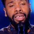 """Hobbs dans """"The Voice 7"""" sur TF1, le 3 février 2018."""