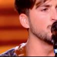 """Abel Marta dans """"The Voice 7"""" sur TF1 le 3 février 2018."""