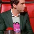 """Mika vexe Zazie sur son âge après la prestation de Carlton dans """"The Voice 7"""" sur TF1 le 3 février 2018."""