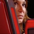 """Zazie vexée dans """"The Voice 7"""" sur TF1 le 3 février 2018."""