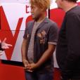 """Carlton dans """"The Voice 7"""" sur TF1 le 3 février 2018."""