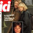 """Couverture du magazine """"Voici"""" daté du 26 janvier au 1er février 1998. L'existence de la fille cachée de Claude François y était dévoilée pour la seconde fois."""