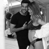 Caroline Receveur enceinte : Elle l'annonce en photo !