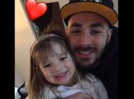 """Karim Benzema tendre pour fêter les 4 ans de Mélia, sa """"magnifique princesse"""""""