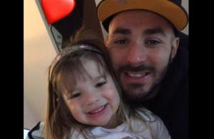 Karim Benzema tendre pour fêter les 4 ans de Mélia, sa