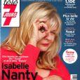 Isabelle Nanty en couverture de Télé 7 Jours.
