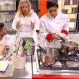 Tara et Thibault dans Top Chef le 14 février 2018 sur M6.