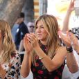 Jennifer Aniston et son mari Justin Theroux - Jason Bateman reçoit son étoile sur le Walk of Fame à Hollywood, le 26 juillet 2017