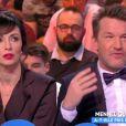 "Géraldine Maillet et Benjamin Castaldi - ""TPMP"", 9 février 2018, C8"