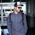 Brody Jenner arrive à l'aéroport de Los Angeles (LAX), le 8 février 2018.