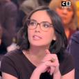 """Agathe Auproux opposée à Benjamin Castaldi - """"TPMP"""", 7 février 2018, C8"""