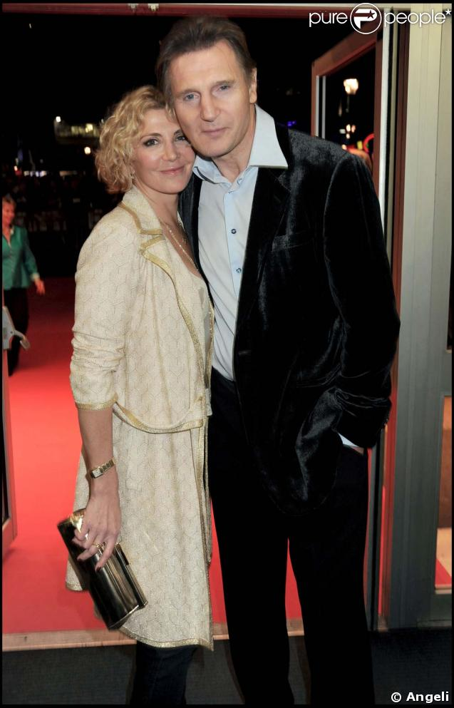 Natasha Richardson et Liam Neeson