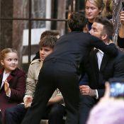 Fashion Week : Victoria Beckham applaudie par David Beckham et leurs enfants