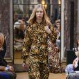 Défilé de mode Victoria Beckham collection prêt-à-porter Automne-Hiver 2018 à New York, le 11 février 2018.