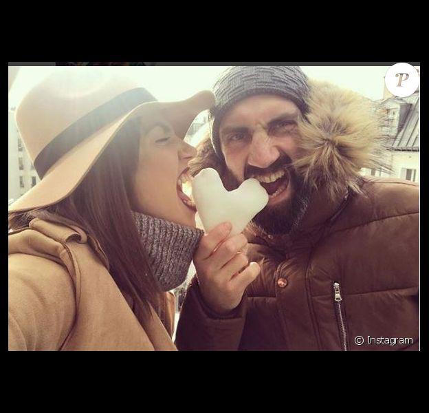 """Week-end en amoureux pour Tiffany et Justin de """"Mariés au premier regard"""", Instagram, février 2018"""