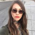 Fanny Maurer à Las Vegas au mois de février 2018.