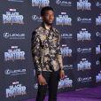 Chadwick Boseman à la première de 'Black Panther' à Hollywood, le 29 janvier 2018 © Chris Delmas/Bestimage