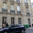 Les bureaux parisiens de Nicolas Sarkozy situés rue de Miromesnil à Paris. Photo pris le 4 juin 2012.