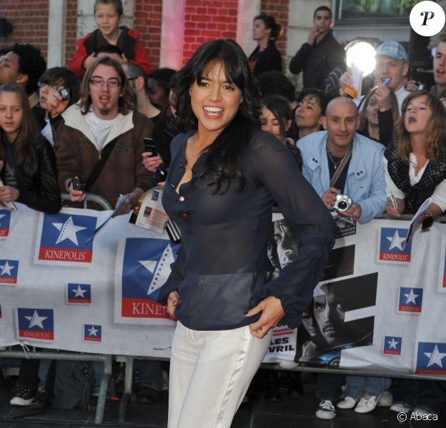 Michelle Rodriguez pour la première Lilloise de Fast & Furious 4