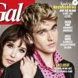 Isabelle Adjani et son fils Gabriel-Kane en couverture de Gala.