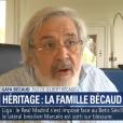 Gaya Bécaud, seul héritier de son père Gilbert Bécaud, sur BFMTV le 19 février 2018.