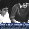 """Gaya Bécaud, seul héritier de Gilbert Bécaud, témoigne sur BFMTV le 19 février 2018. Le fils de l'artiste disparu en 2001 vient de gagner sa bataille judiciaire contre sa belle-mère Kitty Bécaud, qui contestait le testament laissé par l'interprète de """"Nathalie"""". Avant de mourir, Gilbert Bécaud avait exprimé dans son testament sa volonté de léguer le droit moral de son oeuvre à son fils."""
