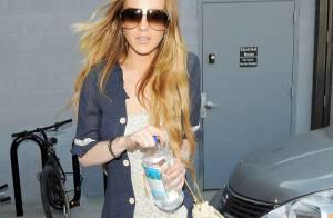 La maigrissime Lindsay Lohan... a encore eu un accident de voiture !