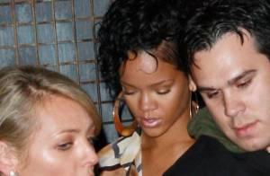 Rihanna, deuxième sortie sans lunettes... mais elle se fait arrêter par la police, regardez !