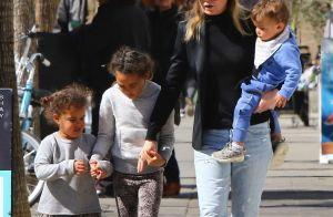 Ellen Pompeo (Grey's Anatomy) et ses trois enfants : Sortie gourmande en famille