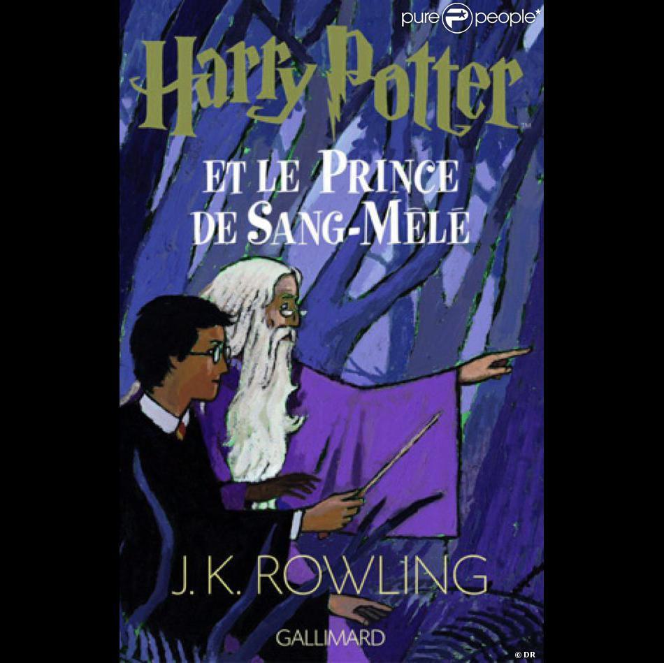 Couverture Du Livre De Harry Potter Et Le Prince De Sang