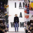 Défilé de mode Christian Dior, collection prêt-à-porter automne-hiver 2018/2019, au musée Rodin à Paris. Le 27 février 2018