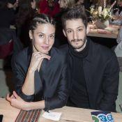 Fashion Week : Pierre Niney et Natasha Andrews, jeunes parents stylés