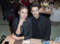 Fashion Week : Pierre Niney et Natasha Andrews, jeunes parents stylés