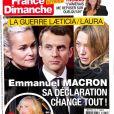 """Magazine """"France Dimanche"""" en kiosques le 2 mars 2018."""