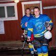 Le prince Daniel disputait le 25 janvier 2018 dans sa ville natale d'Ockelbo un match de hockey sur glace en présence de sa famille.