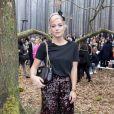 """Lily Allen - Défilé de mode """"Chanel"""", collection prêt-à-porter automne-hiver 2018/2019, au Grand Palais à Paris. Le 6 mars 2018 © Olivier Borde/Bestimage"""