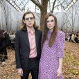 "Keira Knightley et son mari James Righton - Défilé de mode ""Chanel"", collection prêt-à-porter automne-hiver 2018/2019, au Grand Palais à Paris. Le 6 mars 2018 © Olivier Borde/Bestimage"
