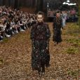 """Défilé de mode """"Chanel"""", collection prêt-à-porter automne-hiver 2018/2019, au Grand Palais à Paris. Le 6 mars 2018"""