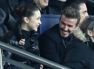 Bella Hadid rieuse au côté de David Beckham, non loin de Nicolas Sarkozy
