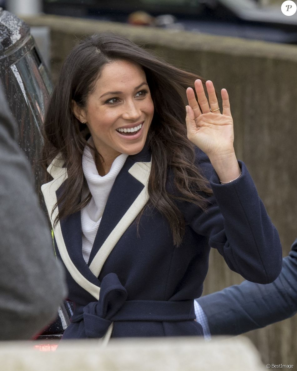 Meghan Markle célèbre la journée internationale de la femme à Millennium Point à Birmingham le 8 mars 2018.