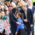 Le prince Harry et sa fiancée Meghan Markle viennent célébrer la journée internationale de la femme à Millennium Point à Birmingham le 8 mars 2018.