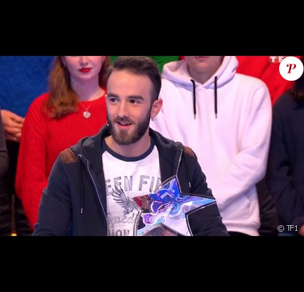 """Florian, maître de midi, dans """"Les 12 coups de midi"""" (TF1)."""