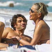 "Sharon Stone amoureuse : Zoom sur son ""fiancé"" Angelo, quadra sexy"