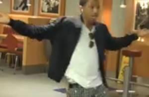 Quand Pharrell Williams pète les plombs... dans un McDo parisien, regardez !