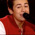 Raffi Arto dans The Voice 7 sur TF1, le 17 mars 2018.