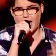 Morgane dans The Voice 7 sur TF1, le 17 mars 2018.